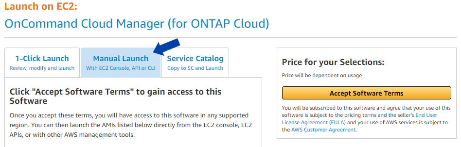 options support in netapp